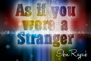 As If You Were A Stranger book cover