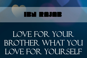 Loving for your Brother what you Love for Yourself book cover